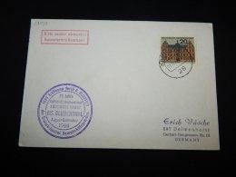 Germany BRD 1964 Bremen MS Blumenthal Cover__(L-18433) - [7] Federal Republic