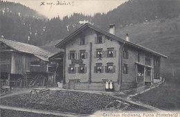 Furna (Hinterberg) - Gasthaus Hochwang - Animiert - 1919               (P-155-60407) - GR Grisons