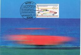 29136. Tarjeta Maxima  BONN (Alemania Federal) 1983. Automobil Frankfurt - [7] República Federal