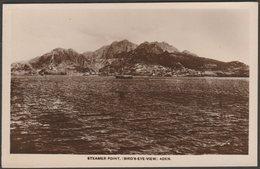 Bird's-Eye View, Steamer Point, Aden, C.1920 - Coutinho RP Postcard - Yemen