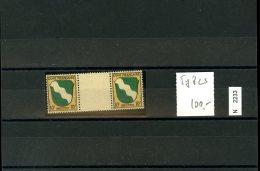 Franz. Zone , Xx , Allg. , 5y ZW Mit Zwischensteg - Zone Française