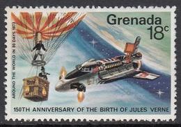 Grenada 1979 - The 150th Anniversary Of The Birth Of Jules Verne, Space Shuttle - Mi 951 ** MNH - Raumfahrt