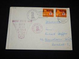 Germany BRD 1971 USS Joseph P.Kennedy Cover__(L-17378) - [7] République Fédérale