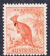 Australia ASC 191 1937-49 King George VI, Half Penny Kangaroo, MNH - Mint Stamps