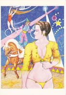 MOGERE Serge  Ed Aventure Cartophile  N°AC89/204 - Cirque -  CPM 10,5x15 TBE 1989  Neuve - Autres Illustrateurs