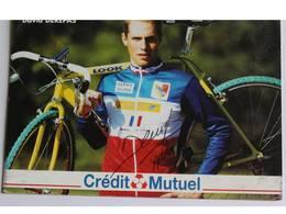 Carte Postale David DEREPAS - Dédicace - Hand Signed - Autographe Authentique - - Cyclisme