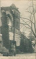SORDE L'ABBAYE (40) La Vieille église - Très Rare - Cachet Du Château De Bergeras à LEREN (64) Carte Postée - France
