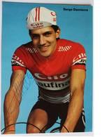 Carte Postale Serge DEMIERRE - Dédicace - Hand Signed - Autographe Authentique - - Cyclisme