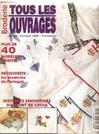 01 Tous Les Ouvrages Broderie - Octobre 1996 - N°24 - Point De Croix