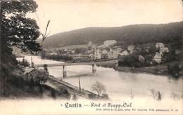 Lustin - Pont Et Frapp Cul (Edit Hôtel De La Gare, Prop. Ed. Jacques) - Profondeville