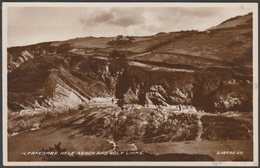Hele Beach And Golf Links, Ilfracombe, Devon, 1933 - Vinces' Library RP Postcard - Ilfracombe