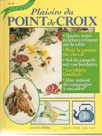 01 Plaisirs Du Point De Croix - Edition FABBRI N°38 - Cross Stitch