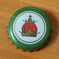 Beer Bottle Cap Capsule Kronkorken Ukraine Lviv Galician Crown First Private Brewery - Cerveza
