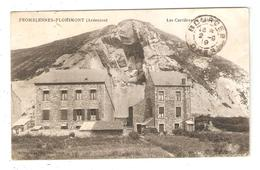 CPA 08 FROMELENNES FLOHIMONT Les Carrières De Flohimont Carrières Maisons 1919 - Autres Communes