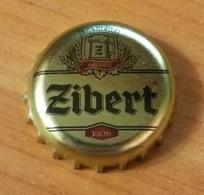Beer Bottle Cap Capsule Kronkorken Ukraine Zibert Obolon Brewery - Beer