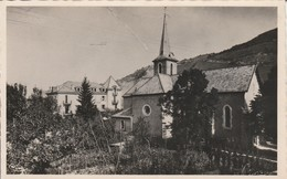 Haute-savoie : MONNETIER-MORNEX : L'église Et L'hotel Des Alpes ( Cpsm Photo Vérit. ) - France