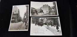 Cp 63 Le Mont Dore Sports D'hiver Skieurs Course Compétition Ski Arrivée Rue Favart Av Bourboule Hotel Commerces Kodak - Postcards
