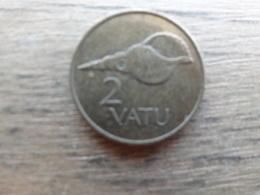 Vanuatu  2  Vatu  1995  Km 4 - Vanuatu