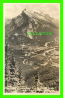 BANFF, ALBERTA - BOW VALLEY & MT RUNDLE FROM BANFF CHAIR LIFT - - Banff