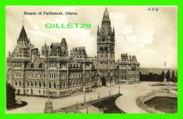 OTTAWA, ONTARIO - HOUSES OF PARLIAMENT - WRITTEN - W. G. MACFARLANE PUB. - - Ottawa