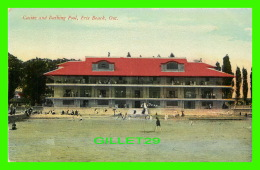 ERIE BEACH, ONTARIO - CASINO AND BATHING POOL - ANIMATED -   WRITTEN - PUB. BY THE BUFFALO NEWS CO - - Ontario