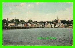 BATHURST, NEW BRUNSWICK - VIEW OF BATHURST VILLAGE - TRAVEL IN 1911 - PUB. BY J. HENDERSON - - Nouveau-Brunswick