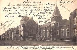 Dolhain - La Justice De Paix (animée, 1908, Timbres) - Limbourg