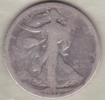 Etats-Unis . Half Dollar 1918 S  San Francisco. Walking Liberty . Argent - 1916-1947: Liberty Walking