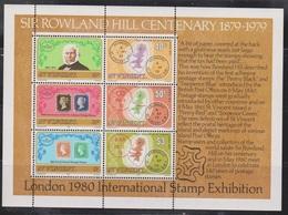 ST VINCENT Scott # 547A MNH - Sir Rowland Hill Souvenir Sheet - St.Vincent (1979-...)