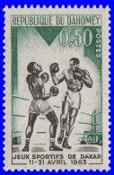 Dahomey 1963. ~ YT 192** - Jeux Amitié, Dakar. Boxe - Bénin – Dahomey (1960-...)