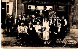 CAFE DU CHEMIN DE FER - Tenu Par SCHIMITZ - Famille à VIREUX MOLHAIN - Cartes Postales