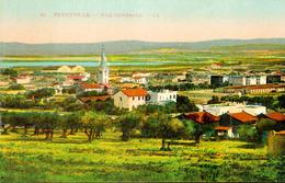 TUNISIE - FERRYVILLE - Vue Générale - Voyagée 1932 - Carte Colorisée - Ed. LL - Tunisia