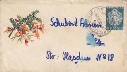 71997- MISTLETOE, PLANTS, LILIPUT COVER STATIONERY, 1957, ROMANIA - Plants
