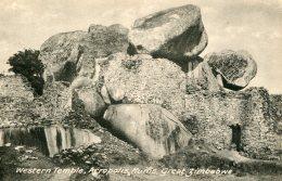 ZIMBABWE - Western Temple - Acropolis Ruins Great Zimbabwe - Zimbabwe
