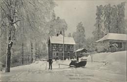 41041237 Lobenstein Bad Winter Frankenwald Schlitten  Bad Lobenstein - Non Classificati