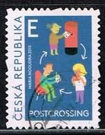 Tschechien 2015, Michel# 857 O Postcrossing - Czech Republic