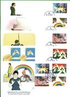 Lotto REGNO UNITO FDC.ANNO DEL DISABILE 1981. - Andere