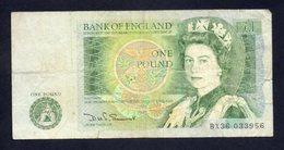 Banconota Gran Bretagna 1 Pound 1978/84 - 1952-… : Elizabeth II