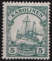 Deutsch   Karolinen    .    Michel  .   A21   .     **   .     Postfrisch    .   /   .   MNH - Colony: Caroline Islands