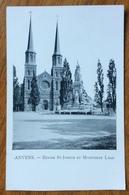 ANVERS  EGLISE ST.JOSEPH ET MONUMENT LOOS - Belgio