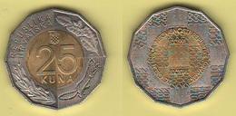 25 Kuna 2004 Independence Hrvatska Croatia Croazia Bimetallic - Croazia