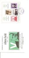 Churchill (  FDC Du Nicaragua   De 1966 Avec BF   à Voir) - Sir Winston Churchill