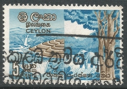 Ceylon. 1963 National Conservation Week. 5c Used. SG 480 - Sri Lanka (Ceylon) (1948-...)