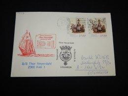 Portugal 1986 S/S Thor Heyerdahl Cover__(L-17129) - 1910 - ... Repubblica