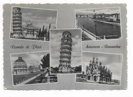 RICORDO DI PISA - VEDUTE   VIAGGIATA FG - Pisa
