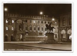 BOLOGNA - PALAZZO COMUNALE  NOTTURNO  - VIAGGIATA FG - Bologna