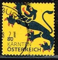 Österreich 2017, Michel# 3311 O Wappen (Ausschnitte) Kärnten - 1945-.... 2nd Republic