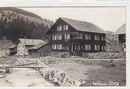 Kurhaus Steg - Fotokarte - 1931.               (P-155-60723) - Liechtenstein