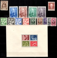 Surinam Belle Petite Collection Neufs **/* 1927/1955. Bonnes Valeurs. B/TB. A Saisir! - Surinam ... - 1975