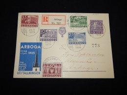 Sweden 1935 Arboga Registered Card__(L-19331) - Sweden